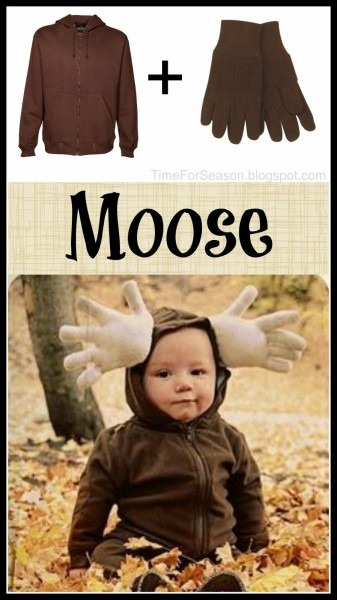 Easy Moose Costume  18 Costumes You Already Have In Your Closet