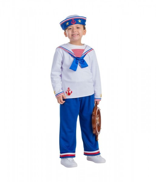 Navy Sailor Little Boys Costume