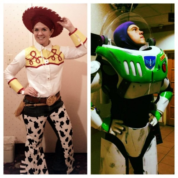 Buzz Lightyear And Jessie The Cowgirl  6 Steps (with Pictures)