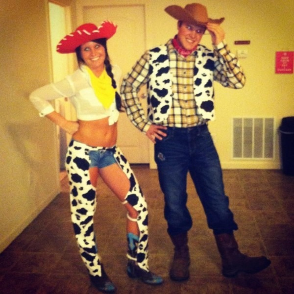 Jessie And Woody For Halloween!