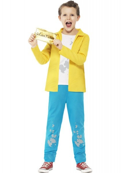 Charlie Bucket Costume, Charlie And The Chocolate Factory