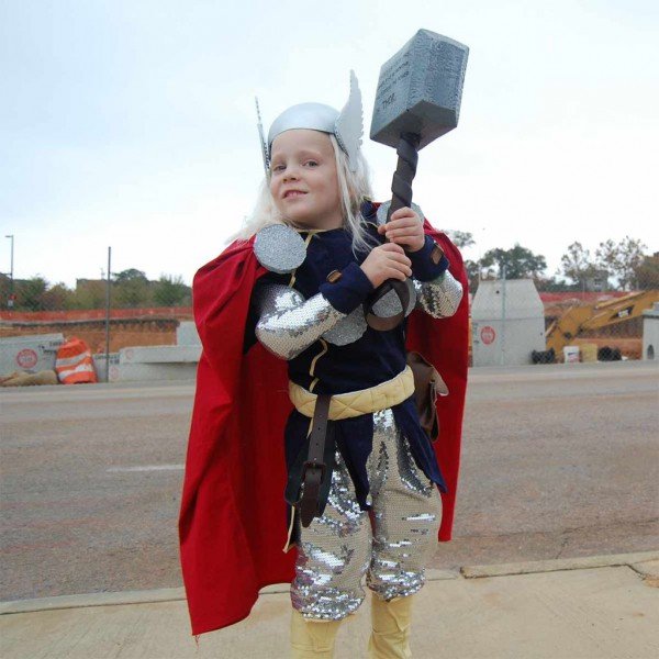 The Mighty Thor Costume  9 Steps (with Pictures)