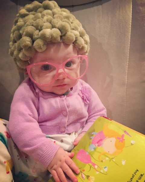 Old Lady Costume For Baby