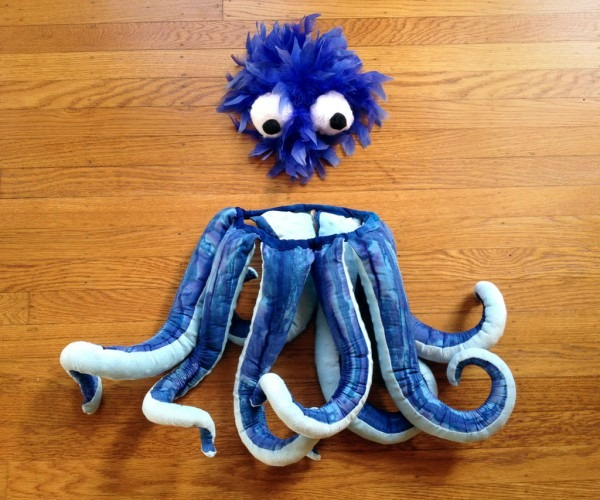 Diy Octopus Costume  6 Steps (with Pictures)