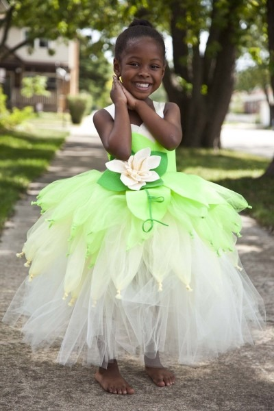 Tiana Tutu Dress, Princess Tiana Tutu, Princess & A Frog Dress