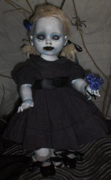 Ooak Reborn Living Dead Zombie Baby Doll Great Creepy Gift  Look