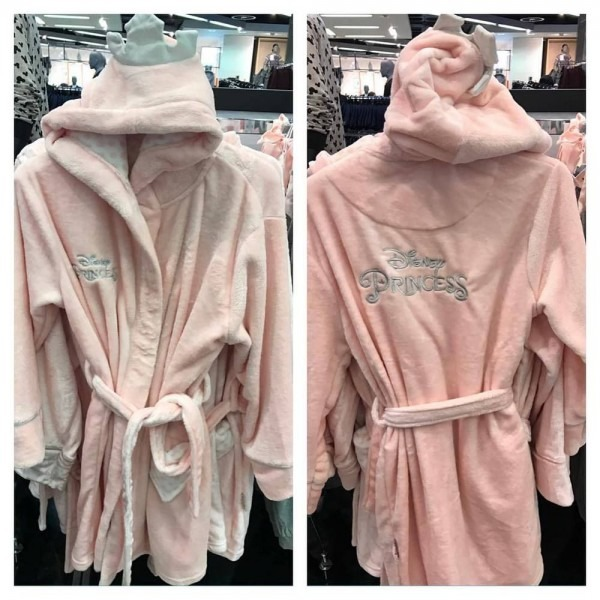 Primark Ladies Disney Princess Dressing Gown Hooded Bathrobe Bath