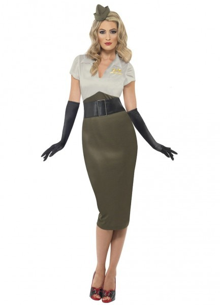 Navy Pin Up Girl Costume