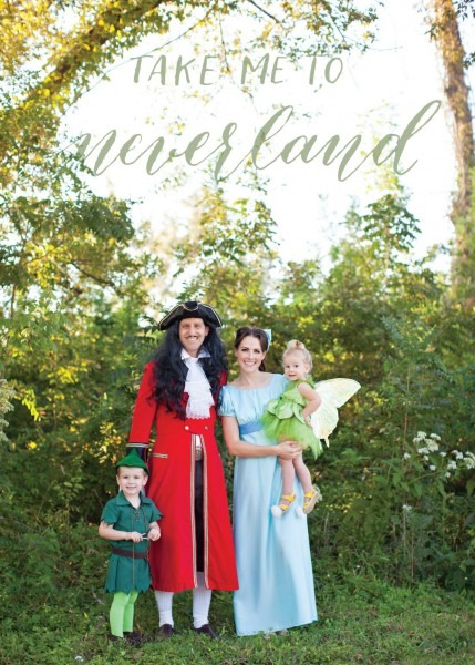 Family Costume Peter Pan Wendy Tink Captain Hook Lost Boys Designs