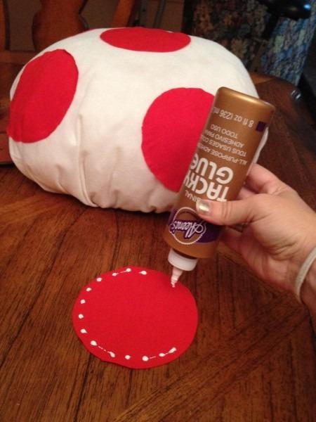 Diy Mario Kart Toad + Toadette Mushroom Hat  4 Steps