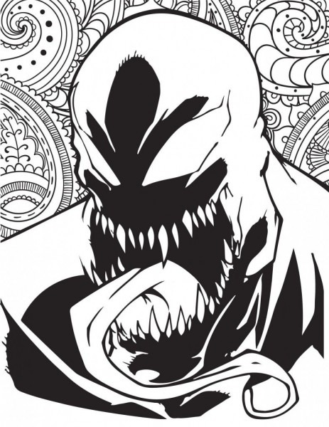 Marvel Villains Printable Coloring Pages