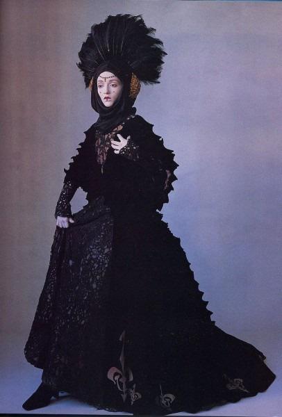 Star Wars, Princess Amidala, Black Invasion Dress
