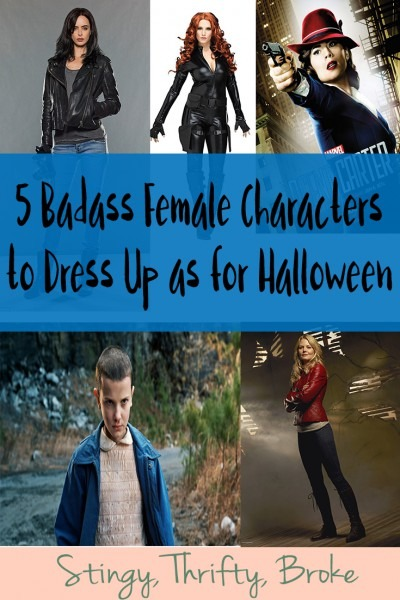 5 Badass Female Characters To Dress Up As For Halloween