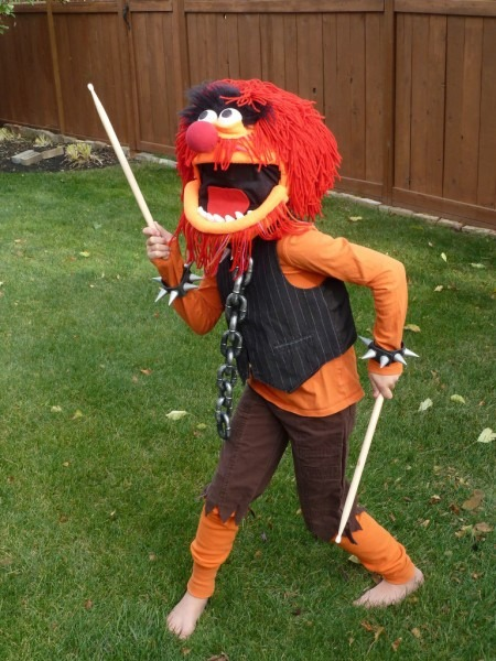 Animal Costume From The Muppets  8 Steps (with Pictures)