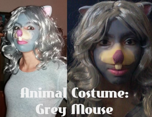 Animal Costume Idea  Grey Mouse  4 Steps (with Pictures)