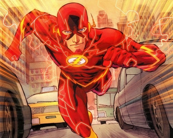 See Grant Gustin In Full Costume As The Flash – He's The Maroon