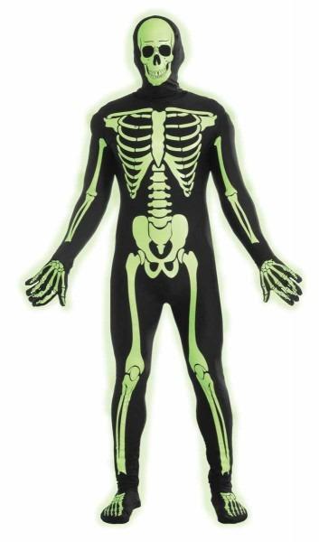 Skeleton Teen Boys Costume