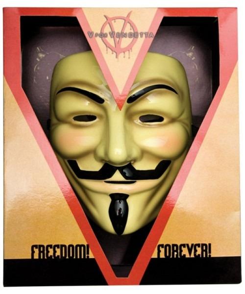 V For Vendetta Collector's Edition Mask