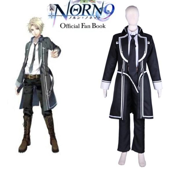 Free Shipping Norn9 Yuiga Kakeru Male Uniform Anime Cosplay