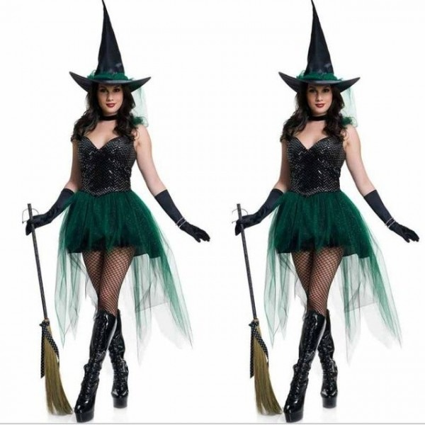 Frre Shipping Carnival Party Fancy Witch Costumes Halloween Noble