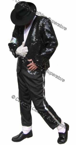 Michael Jackson Full Billie Jean Outfit   Costume