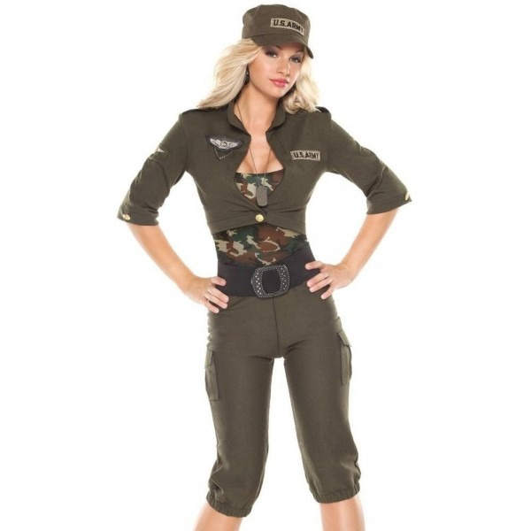 Coquette Womens Army Girl Halloween Party From Bhfo