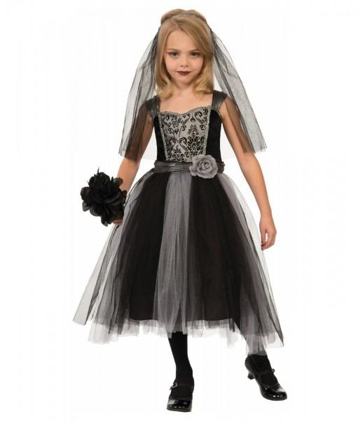 Dark Bride Girls Gothic Costume