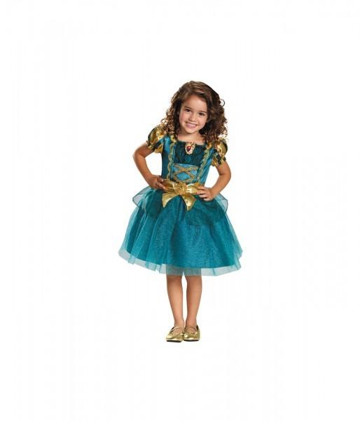 Princess Merida Classic Girls Disney Dress Costume