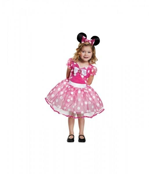 Pink Minnie Mouse Girls Tutu Dress