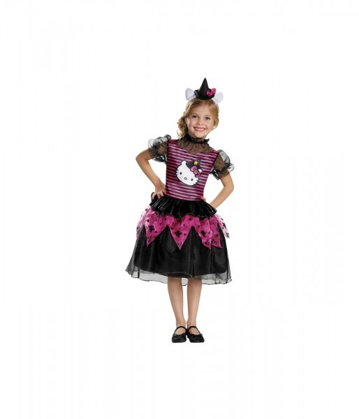 Hello Kitty Witch Classic Baby Girls Costume