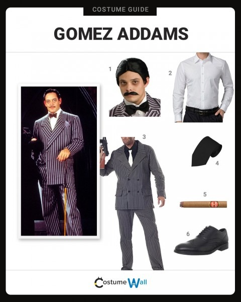 Dress Like Gomez Addams Costume