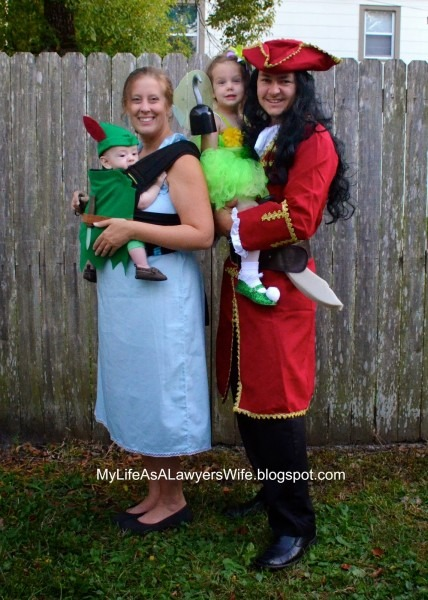My Life As A Lawyer's Wife  Peter Pan Family (and Babywearing