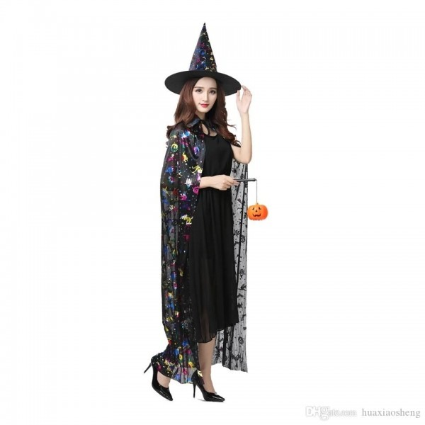 Halloween Costume Female Cosplay Prom Witch Witch Costume Adult
