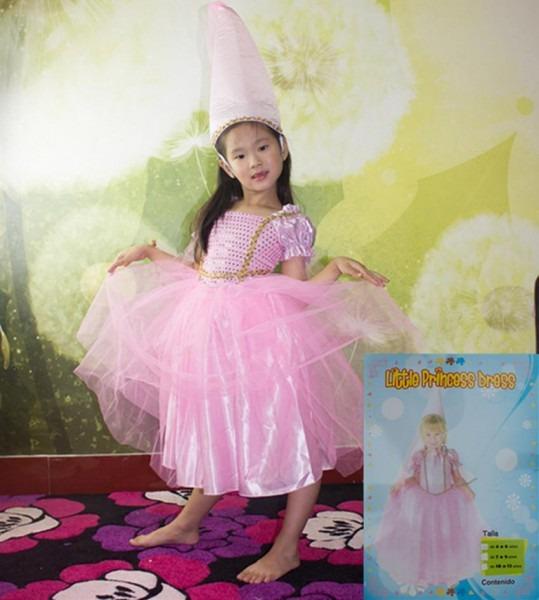 Halloween Costumes Clothes Kids Girls Children Pink Barbie