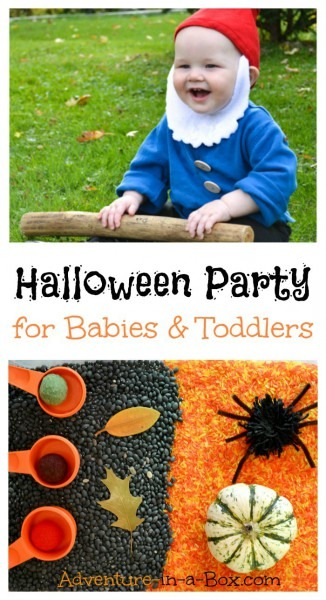 Halloween Party For Babies And Toddlers