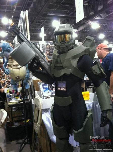Halo Master Chief 3 Cosplay Phoenix Comicon 2013