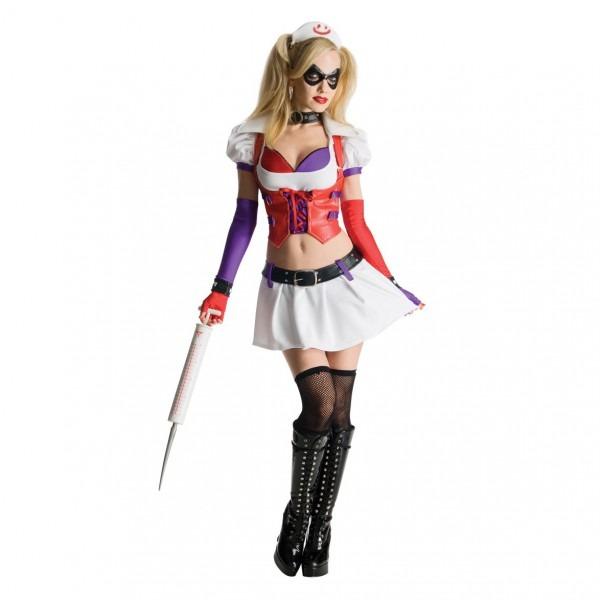 Harley Quinn Nurse Sexy Womens Costume
