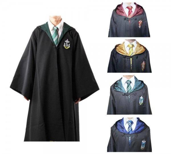 Harry Potter Cloak Cape Magic Robe Gryffindor Cosplay Costume Kids