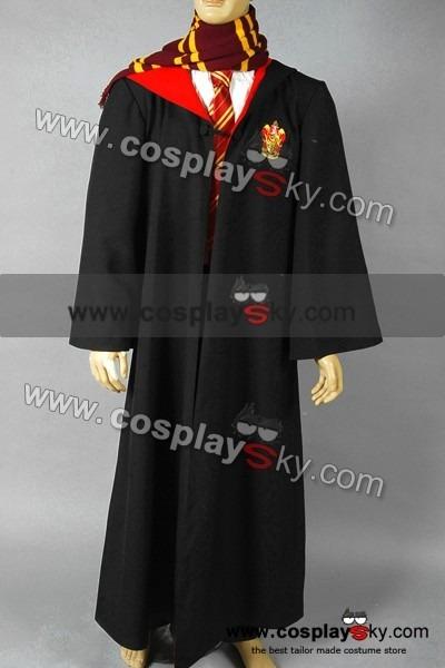 Harry Potter Gryffindor Of Hogwarts Robe Costume