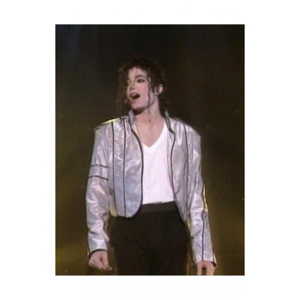 Heal The World Concert Michael Jackson Silver Jacket