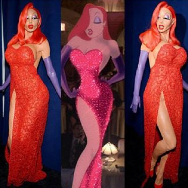 Welcome To Kyky's Blog  Check Out Heidi Klum's Jessica Rabbit