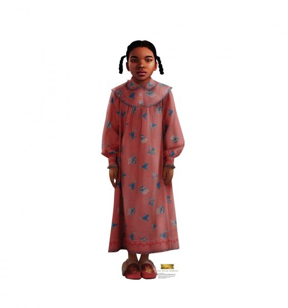 Advanced Graphics Hero Girl The Polar Express Cardboard Standup