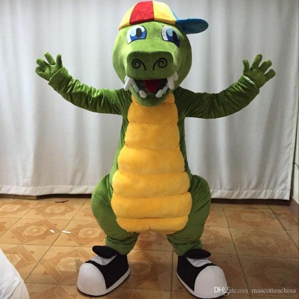 High Quality Adult Newest Crocodile Mascot Costume Cute Crocodile