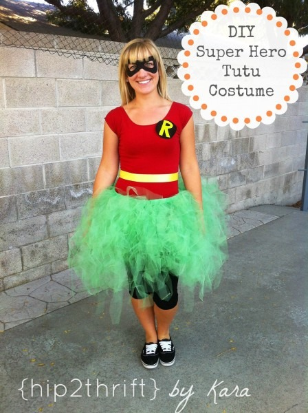 Hip2thrift  Diy Super Hero Tutu Costumes, Girl Superhero Costumes