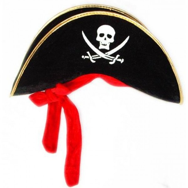 Hot Cosplay Party Halloween Moon Pirate Hat Velvet Pirate Hat