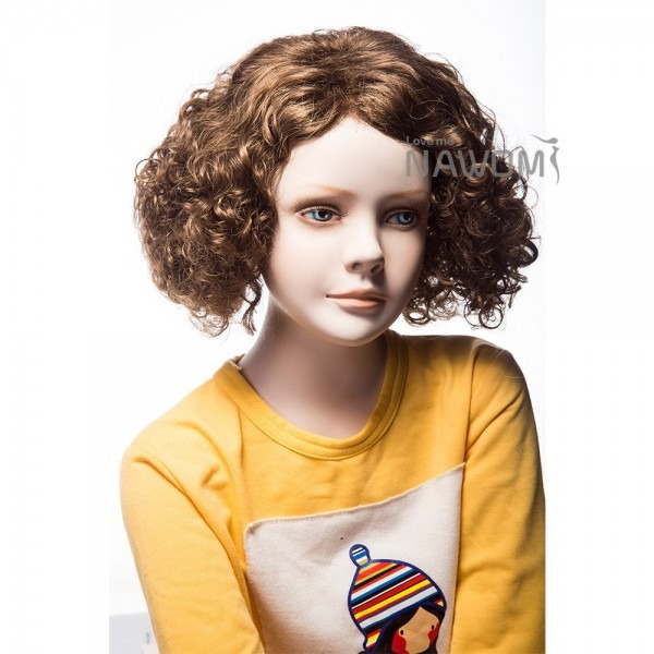 Hot Sale Kids Curly Wig Pretty Girl Wigs Natural Hair Lovely Kid U