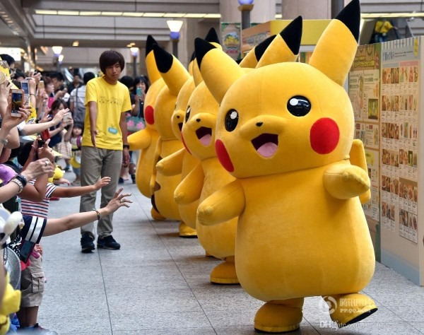 Hot Sale! Pikachu Mascot Costume Fancy Dress Outfit Pikachu Mascot