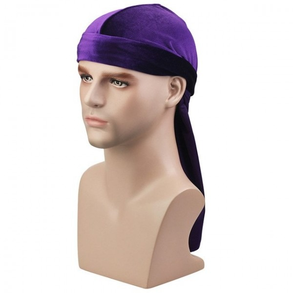 Aliexpress Com   Buy Hot Velvet Hooded Cap Long Tailed Pirate Hat