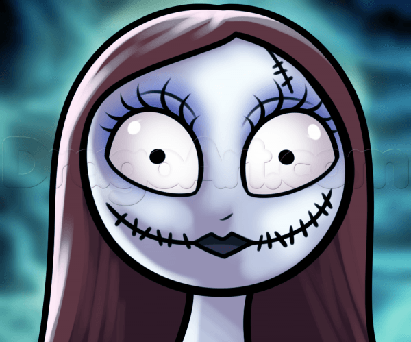 Nightmare Before Christmas Images How To Draw Sally The Rag Doll 1