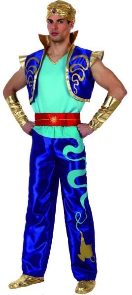 Adult Children Halloween Party Aladdin Costumes Aladdin Lamp Genie